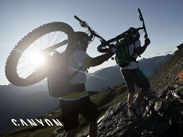 Check-up für Mountainbikes powerd by CANYON